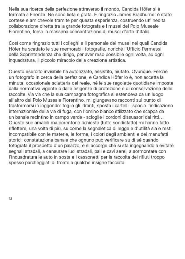 Pagine_interne1_Candida Höfer a Firenze. Candida Höfer in Florence_maschietto